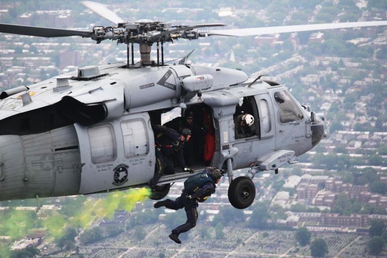 US Navy SEAL team