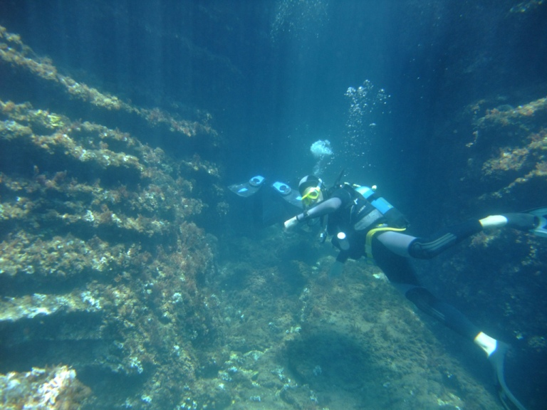 Diving in Corfu