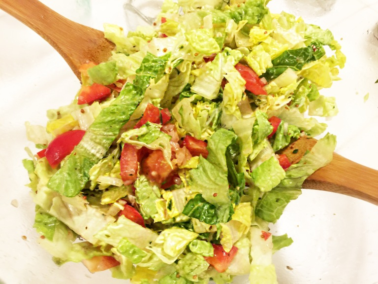 Chardonnay and Herb Salad Dressing